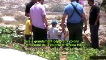 Palestine - Famille Jaber attaqués par des colons sionistes