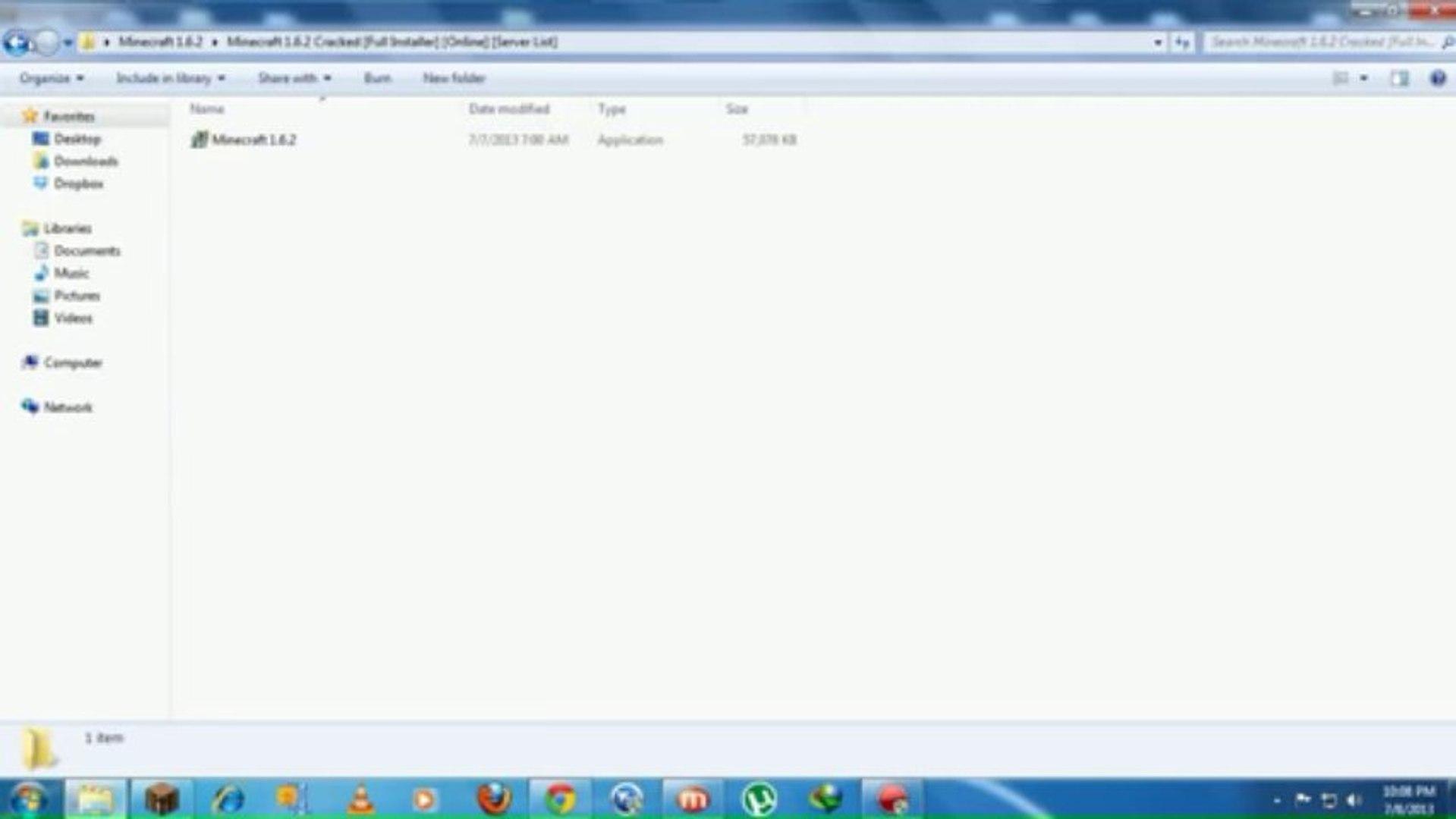 Lancher Updated Minecraft 1.6.2 Cracked Full Installer 889