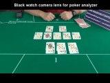 Watch scanning spy camera lens poker analyzer cheating device cheat at poker game
