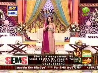 Sehrish of SBTI Shelter wedding on good morning pakistan ARY  Digital