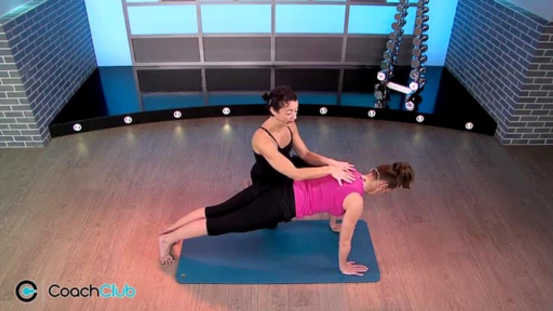 Muscler les bras avec l'exercice du plank push up