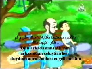 Çizgi Film gıybet  الغيبة  Arapça Türkşe altyazı