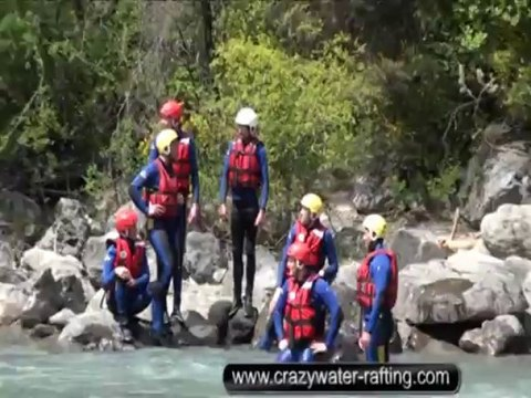 Rafting Ubaye Présentation de Crazy Water Rafting Ubaye Version Sport hydrospeed kayak raft