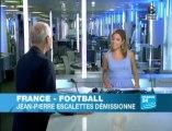 Jean-Pierre Escalettes démissionne de la FFF (France24)