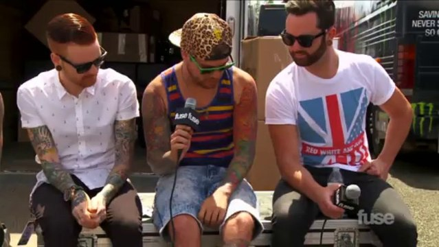 Memphis May Fire Tells Their Tattoo Stories at Warped Tour 2013