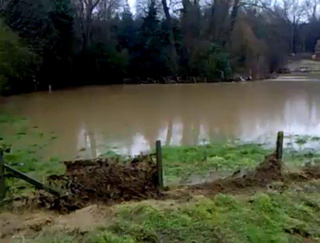 Inondations à Tubize