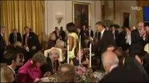 Obama, applaudi par les membres du Congrès