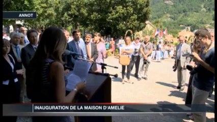 Inauguration de la Maison d'Amélie
