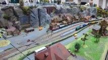 Exposition de modélisme à Malmedy: le train électrique en montagne