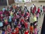 Mouscron: 125 élèves de Saint-Henri ont dansé un flashmob (1)