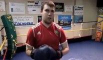On a testé la boxe avec Geoffrey Demez champion de Belgique en Boxe Française