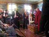Viste du Dalaï-Lama à Huy
