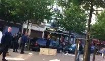 Avenue de Stalingrad: intervention musclée de la police de Bruxelles pour déloger les marchands ambulants