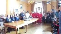 Michaël Schumacher fait citoyen d'honneur de la Ville de Spa