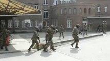 Les para-commandos de Flawinne simulent une prise d'otages à Nivelles