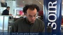 Le 11H02 : SNCB : « Une grève inévitable mais pas forcément efficace »