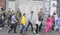 Dison: exercice d'évacuation de l'école Luc Hommel par l'armée