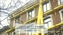 Une partie d'un immeuble s'est effondrée au centre de Liège