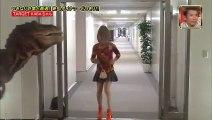 Blague Suprise :  Peur d'un dinosaure en caméra cachée