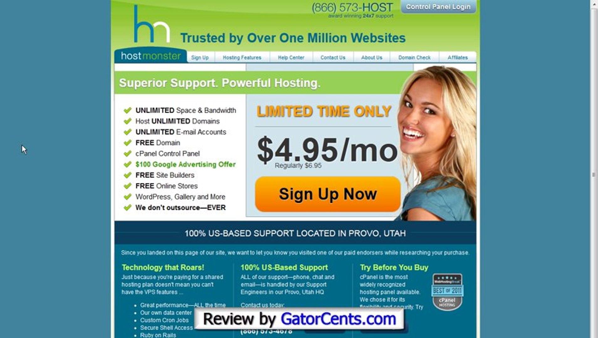 Hostgator Lifetime Coupon - Hosting Coupon Code: GATORCENTS