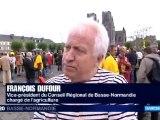 manifestation anti THT à Avranches (50) - samedi 27 septembre 2012