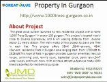 Luxurious Residential Apartments In Gurgaon -1000 Trees Sector 105