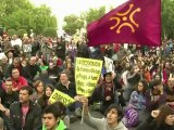 Protests in crisis-hit Spain as debt to surge