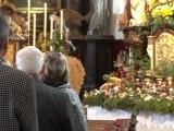Zell an der Ybbs  Schwammerlaltar 2012 und Heiliger Karl Borromäus