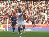 But Kevin GAMEIRO (11ème) - Paris Saint-Germain - FC Sochaux-Montbéliard (2-0) - saison 2012/2013