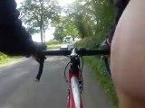 Une vraie thérapeutique quand on fait du vélo quand on en a une jambe droite qui se pétrifie et qui rétréci
