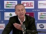 Conférence de presse ESTAC Troyes - Toulouse FC : Jean-Marc FURLAN (ESTAC) - Alain  CASANOVA (TFC) - saison 2012/2013