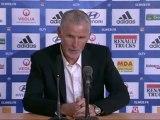 Conférence de presse Olympique Lyonnais - Girondins de Bordeaux : Rémi GARDE (OL) - Francis GILLOT (FCGB) - saison 2012/2013
