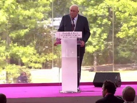 Université d'été: Plénière exceptionnelle avec Frederik de Klerk, Prix Nobel de la Paix