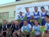 Critérium National vétéran 2012 - Finales HVC2x, HVC4+ et HVD4x