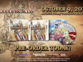 Code of Princess - Trailer Septembre 2012 de Code of Princess