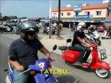 SCOOTER GEZİSİ...30 EYLÜL 2012..( YAKLAŞIK 35 SCOOTER MOTOSİKLET İLE KIBRIS-TATLISU ZAMBAK TATİLKÖYÜNE GERÇEKLEŞEN GEZİ SORUNSUZ TAMAMLANDI..)