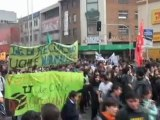 Los estudiantes chilenos cierran un agosto de protestas con una gran manifestación