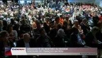 OPERATION SPECIALE,Discours de François Bayrou