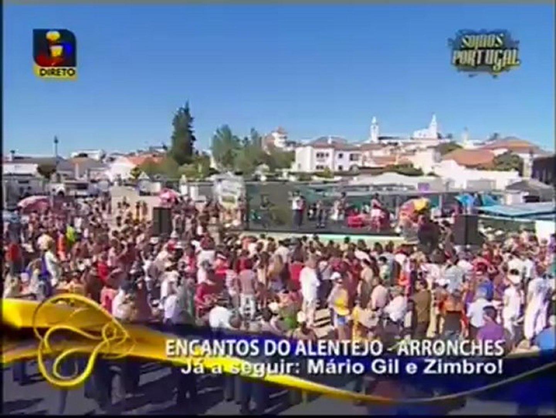 Banda Sol Brilhante na TVI em Arronches Alentejo no programa Somos Portugal com o tema Eu Cá Só Pens