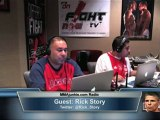 Rick Story on MMAjunkie.com Radio