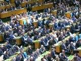 Ouverture de la 67 ème session de l'Assemblée Générale de l'ONU