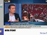 Zapping Actu du 03 Octobre 2012 - Rashida Dati, Bataille autour du traité européen