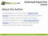 ePestSolutions - Gardening and Organic Pest Control