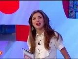01/10/12 Vero TV - Marghe conduce il programma Chiacchiere I 10 gossip del momento 1
