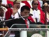 Madagascar: Vers un retour de Ravalomanana?