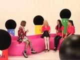 [TV] E-girls (Ishii Anna, Ami, kaede) at dam channel (2)
