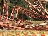La caméra en balade - Dynamitage des antennes de Prangins ( 3 octobre 2012 )