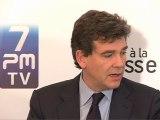 Face à la Presse - Arnaud Montebourg, ministre du Redressement productif, version longue