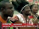 Prix Découvertes RFI-France 24- 2012