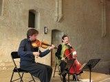 Sarhan, Espoir pour violon et violoncelle, N. Boutin & F. Aurier